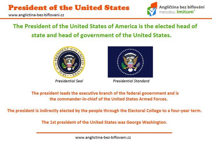 Spojené státy americké mají 45. prezidenta. Jaká je obecná charakteristika prezidenta Spojených států amerických?   #president #unitedstatesofamerica