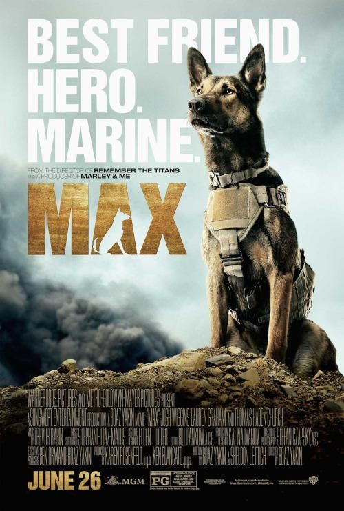 Official Max Movie Trailer: The heart-wrenching story of what this dog did when his owner died in combat. Grab the tissues!