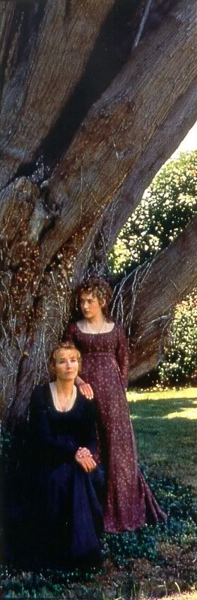 sense & sensibility -- love the aubergine print -- one of my favorite dresses from this adaptation