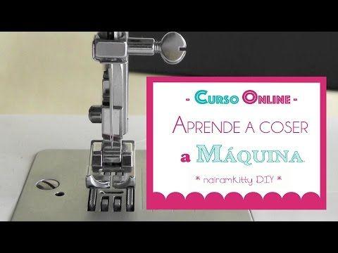 Curso online gratuito: aprende a coser a máquina desde cero | Manualidades