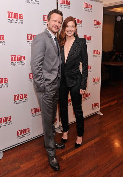 Debra Messing Photos: 'Outside Mullinger' Broadway Opening Night