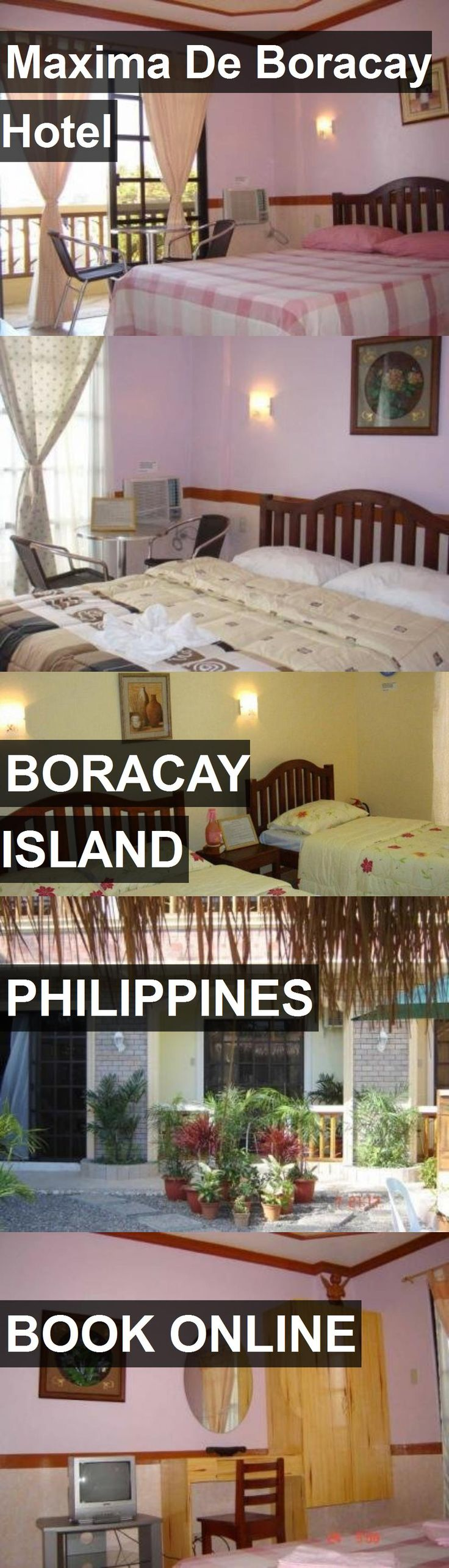 Hotel Maxima De Boracay Hotel in Boracay Island, Philippines. For more information, photos, reviews and best prices please follow the link. #Philippines #BoracayIsland #MaximaDeBoracayHotel #hotel #travel #vacation