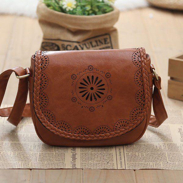 Latest Hollow School Messenger Bag Shoulder Bag