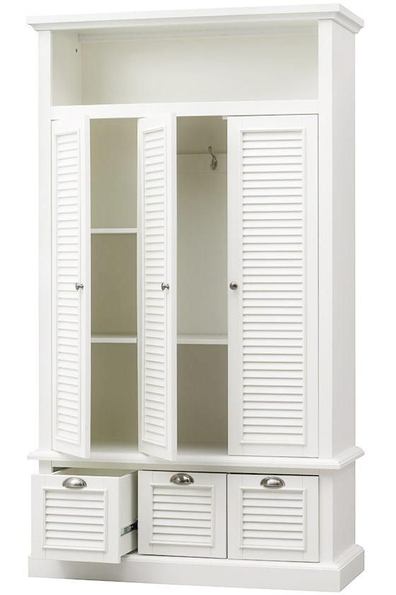 Shutter Closed Locker Storage - Storage Lockers -  Lockers -  Entryway -  Hall Tree -  Storage -  Storage & Organization | HomeDecorators.com