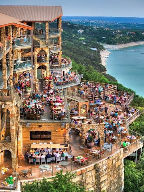 Oasis Restaurant on Lake Travis, Austin -Texas