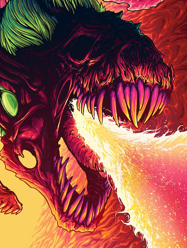 Unleashed from the Fire on Behance