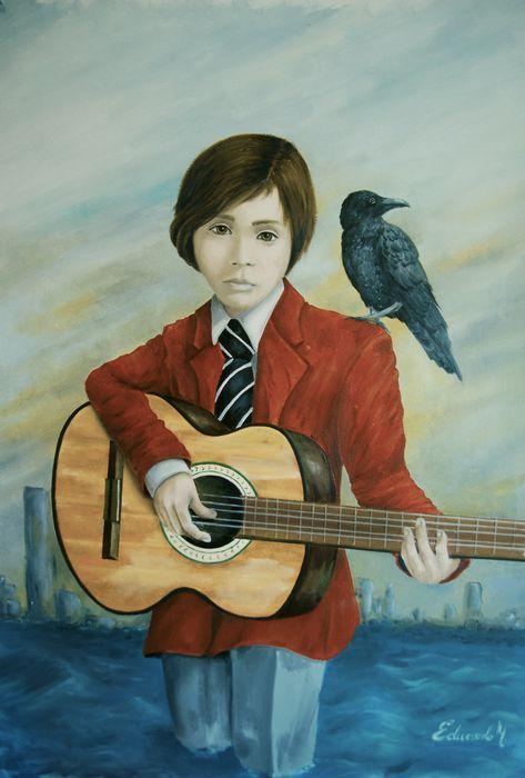 Eduardo Moreno Rodríguez - Una canción a las Cenizas  Olieverf op doek zonder rek.Afmeting: 60 x 87 cmIn goede staat.Vanuit Palma de Mallorca.Verzendwijze: opgerold  EUR 1.00  Meer informatie