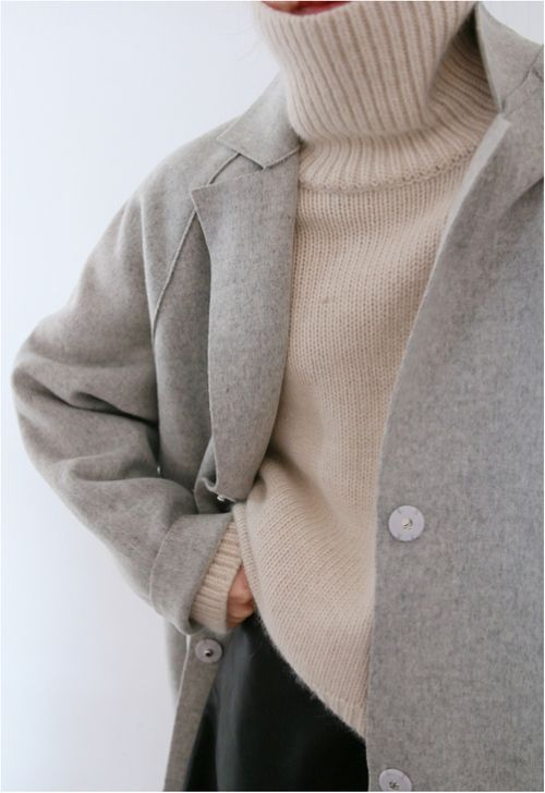 The roll neck jumper, can you live without it? We can't!