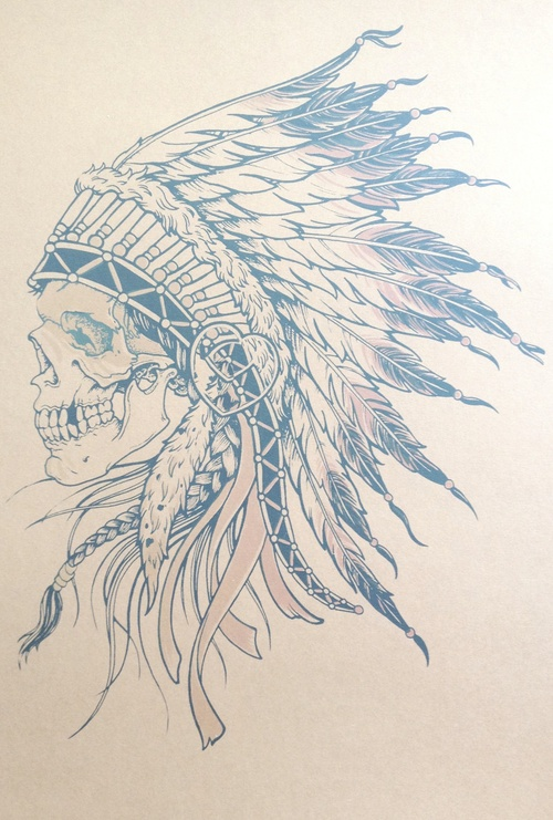 Would love something like this as a partial sleeve, but with a face instead of the skull...if only I was brave enough