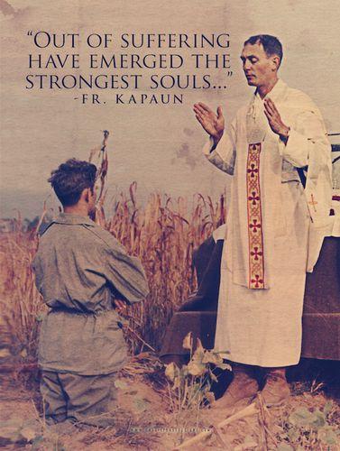 Fr. Emil Kapaun Poster