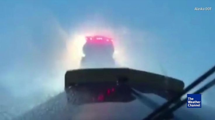Four trucks got caught in an avalanche on Alaska's Dalton Highway -- an unpaved road known for its dangerous driving conditions -- but managed to make it out of their vehicles and out of the area.