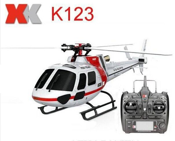 Original XK K123 6CH Brushless AS350 Scale 3D6G System RC Helicopter RTF Upgrade WLtoys V931 //Price: $186.30     #techie
