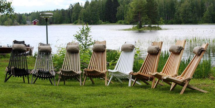 Pohjoismaalainen Ecofurn ulkotuoli on yhtä luonnollinen kuin luonto itse