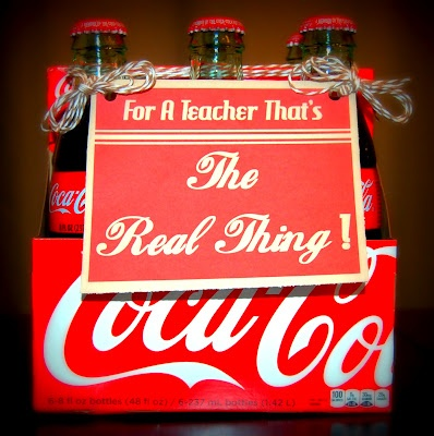 """""""For a Teacher that's The Real Thing!""""  ... Follow this link for the printable .. it's a CLASSIC, isn't it!?"""
