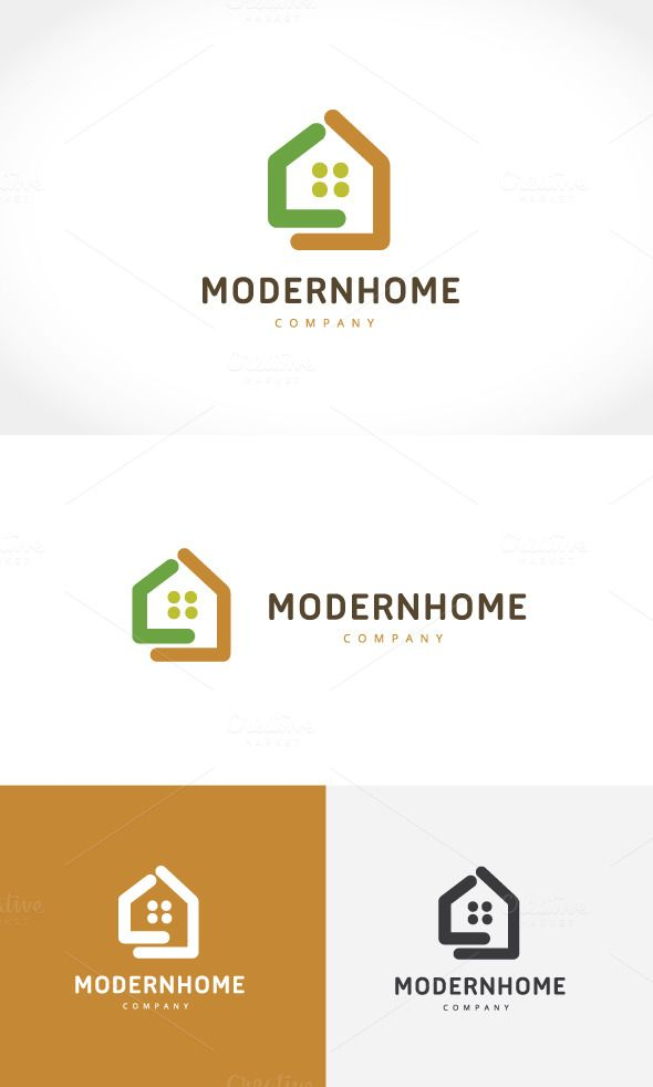 Modern Home by Super Pig Shop on @creativemarket