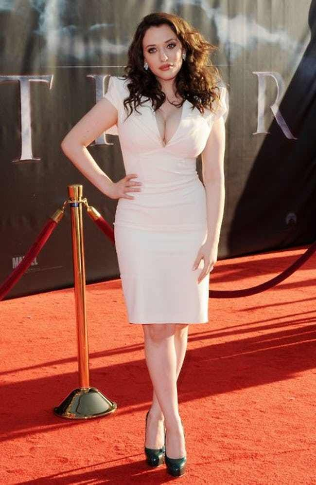 Looking like the Snowy Alps on... is listed (or ranked) 4 on the list The 28 Hottest Pics of Kat Dennings