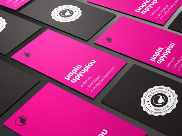 13 best salon images on pinterest beauty salons hair dos and logo maria argyriou beauty salon logo business card by brice corbin via behance business card ideas colourmoves