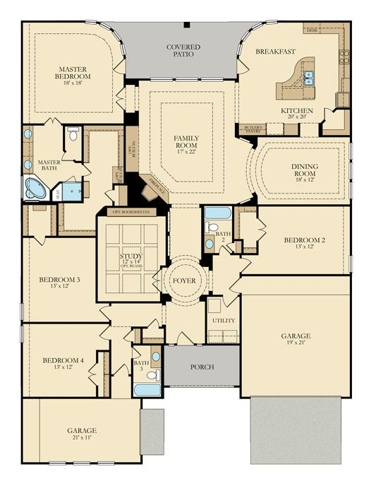 Find This Pin And More On Dream Floor Plans By Lennarhomes.