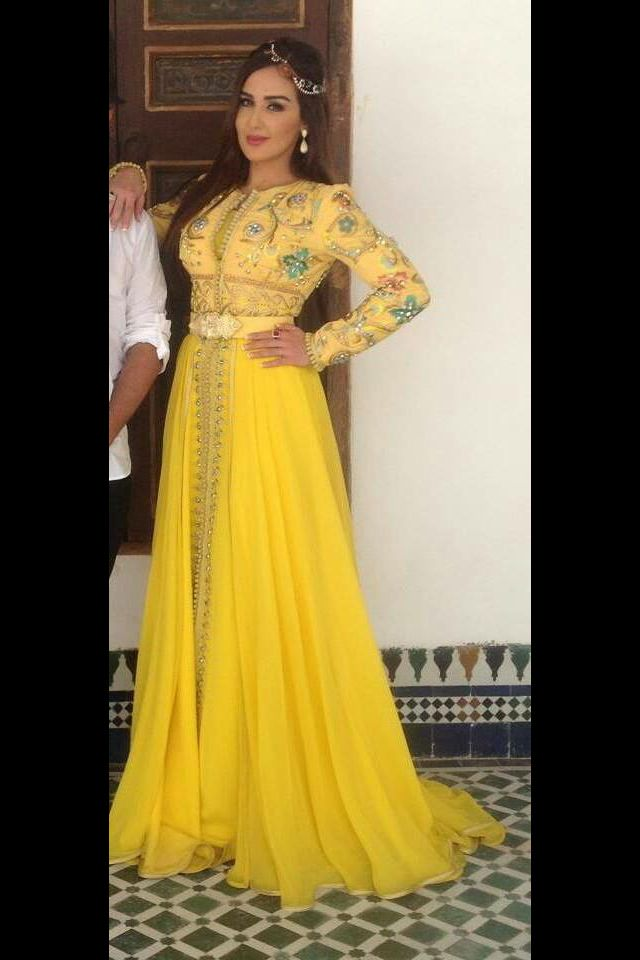 386 best images about caftan maghribi on pinterest robes for Caftan avec satin de chaise