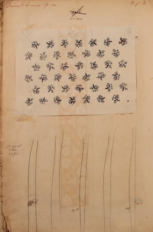 1863 French Textiles Sample Books By The Maison Robert