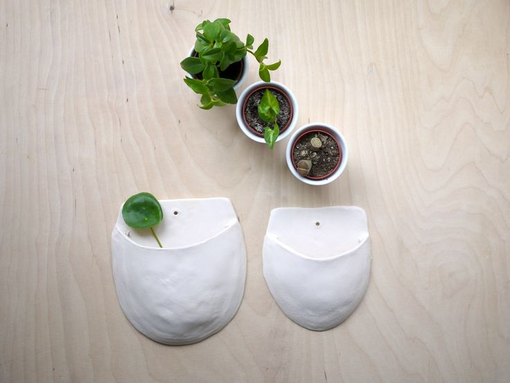ceramic hanging pockets