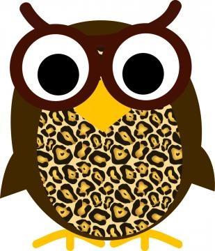 Owl Whiteboard eraser for Mrs. Howell's Owls! :-)