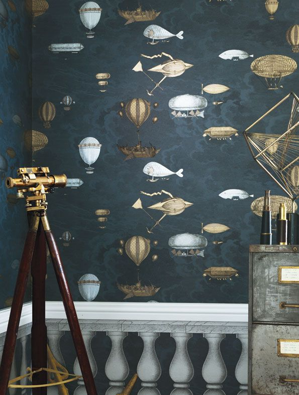 the type of wallpaper we are thinking - something dark and quirky