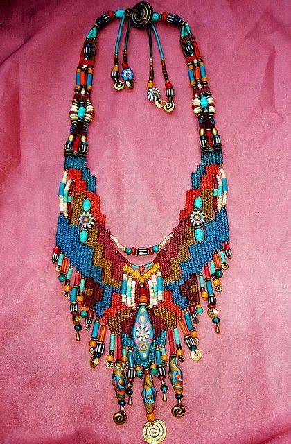 ~ weaving with handmade bead ~ by AowDusdee,