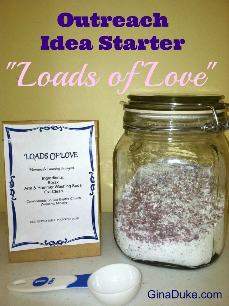 Great Outreach Idea - Loads of Love.  For more details, click here or go to GinaDuke.com