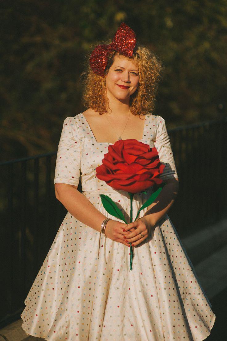 A Glittery, Colourful & Fun-Filled DIY Wedding: Rich & Fran · Rock n Roll Bride