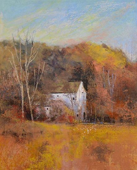 Autumn in the Greenbelt - Pastel