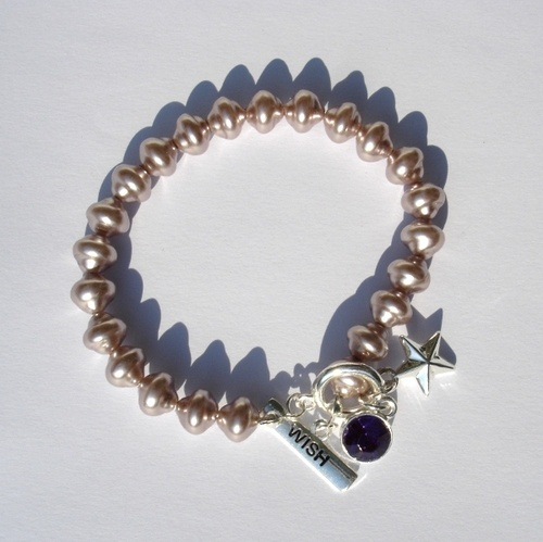 Bracciale strass e perle  Pearly and sparkle bracelet