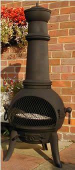 Every garden needs a chimnea