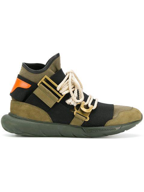 f98b92ba9f3c5 The Shoe Surgeon Farfetch x The Shoe Surgeon Y3 Qasa sneakers ...