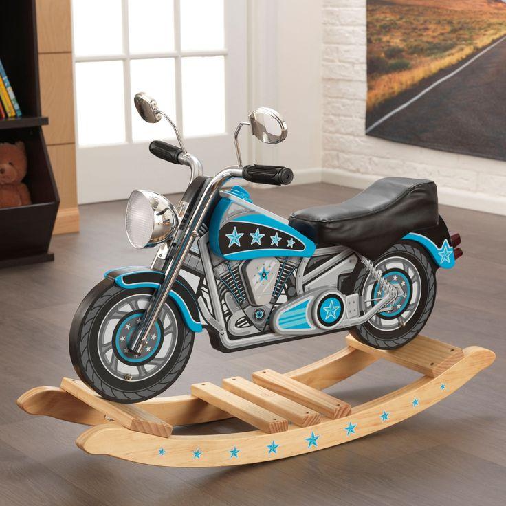 Kid Kraft Star Studded Rockin' Motorcycle w/ sound - 10018