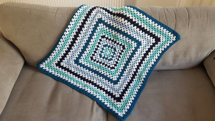 Spearmint Baby Blanket