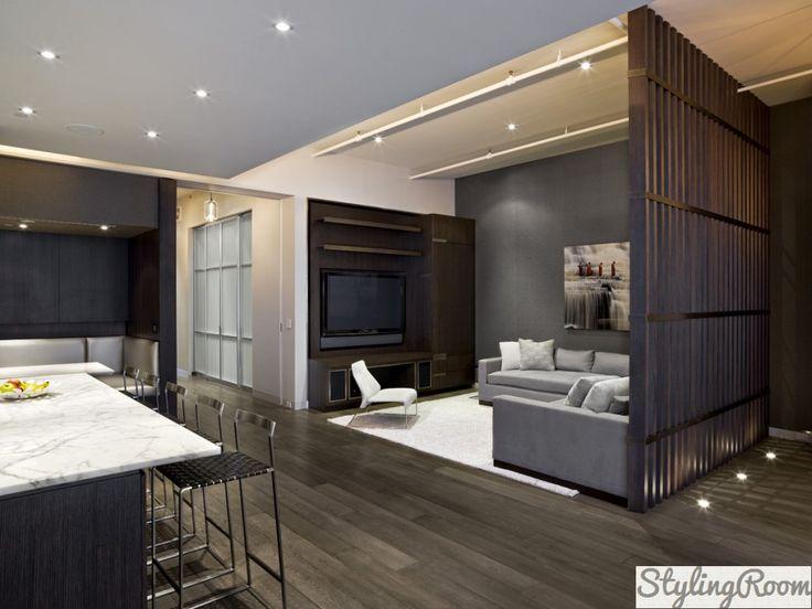Зонирование однокомнатной квартиры: личный комфорт своими руками