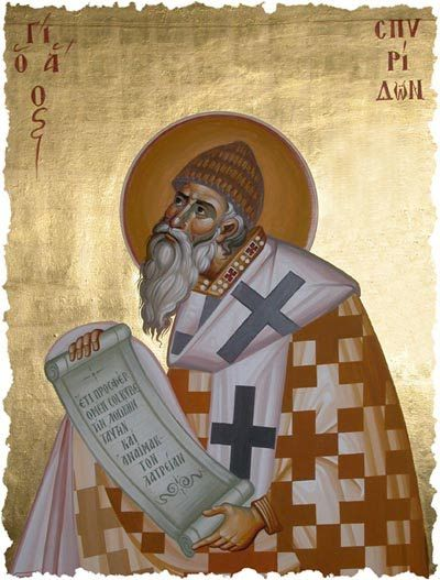 Saint Spyridon the Wonderworker of Trymithous | MYSTAGOGY RESOURCE CENTER