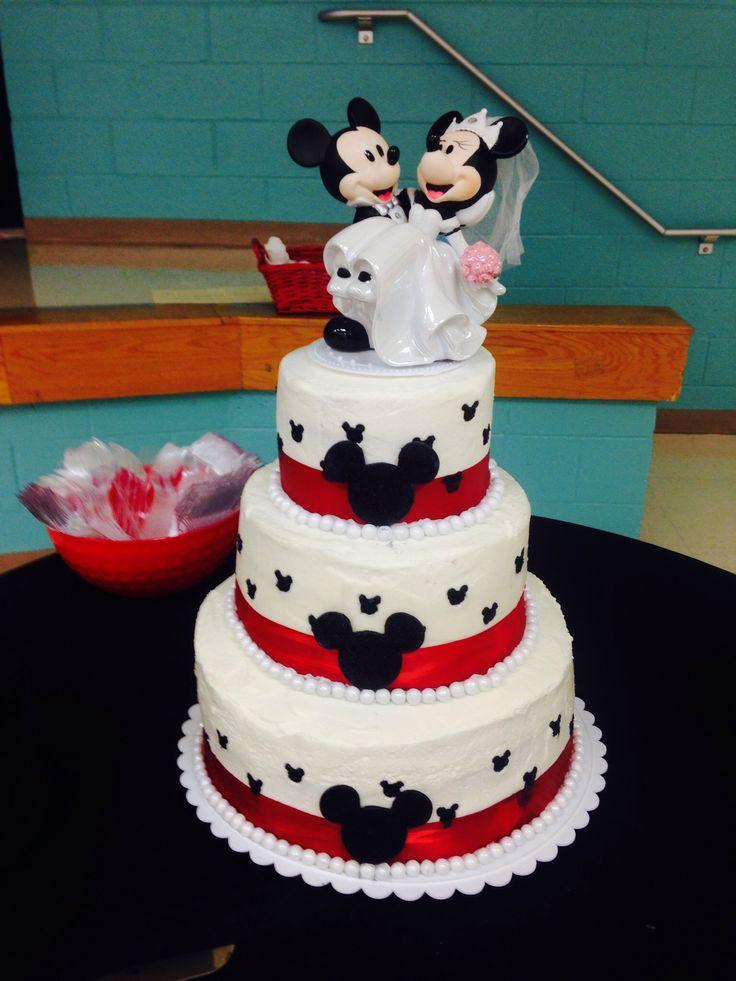 Wedding Cake Mickey