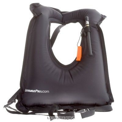 Life Jackets and Preservers 15262: Leisurepro.Com Black Snorkel Vest -> BUY IT NOW ONLY: $34.95 on eBay!