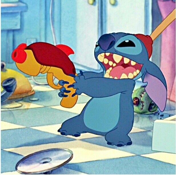 Lilo And Stitch Lying On The Floor Thefloors Co