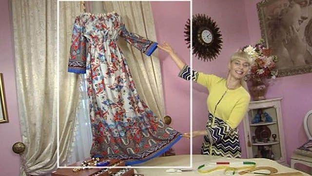 Платье в пол - Доброе утро - Первый канал