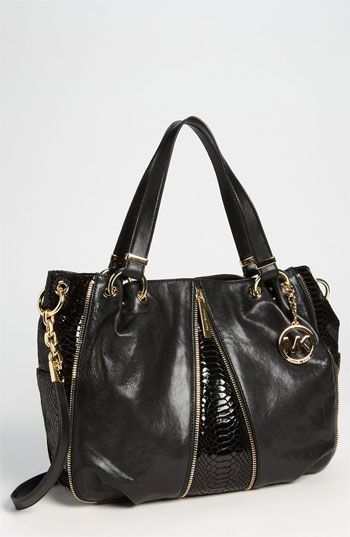 NEED a black MK bag!  MICHAEL Michael Kors 'Newman' Tote | Nordstrom on sale for $224!
