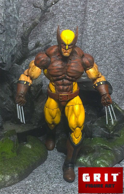 Wolverine (Marvel Legends) Custom Action Figure by jessecuster Base figure: Hasbro Wolverine
