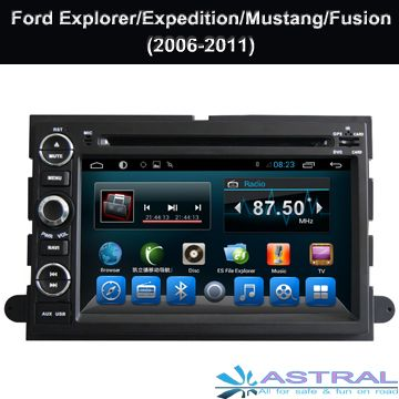 2008 2010 FORD F250 F350 450 550 DDIN STEREO KIT TOUCHSCREEN USB BLUETOOTH DVD