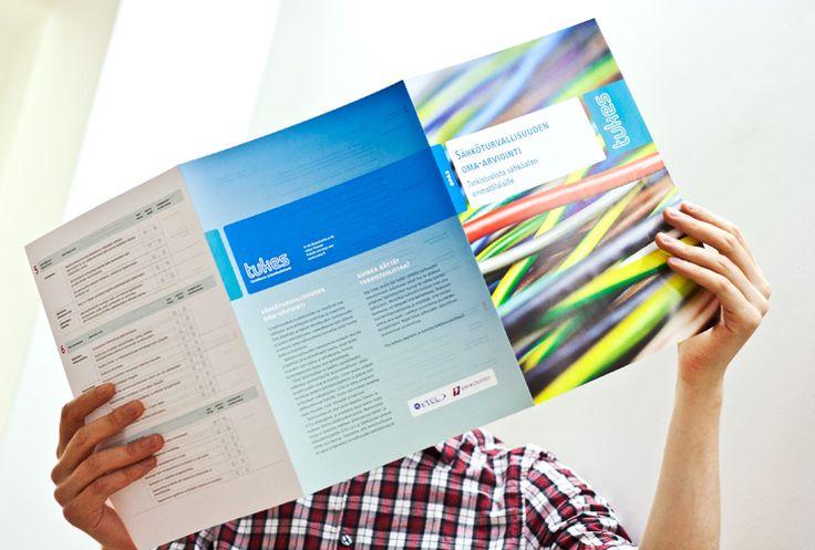 Graphic Design   Tukes   Brochure Design