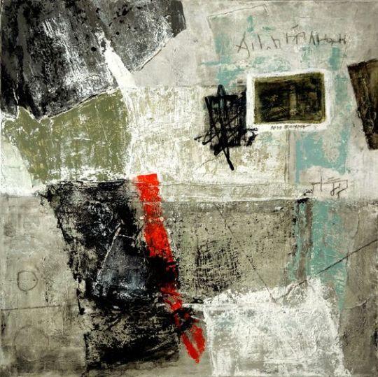 Daniel Saint Romain art journal - expression through abstraction