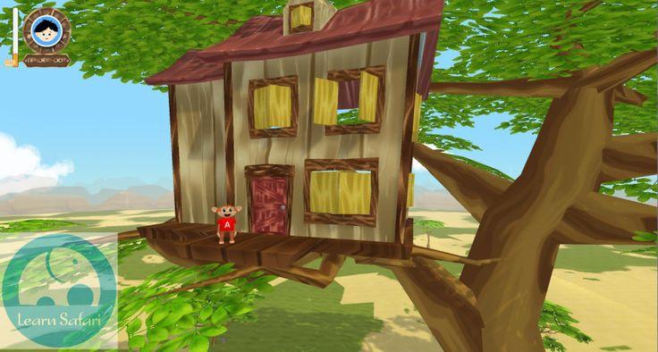 Arturo's treehouse #learnsafari #learnSpanish