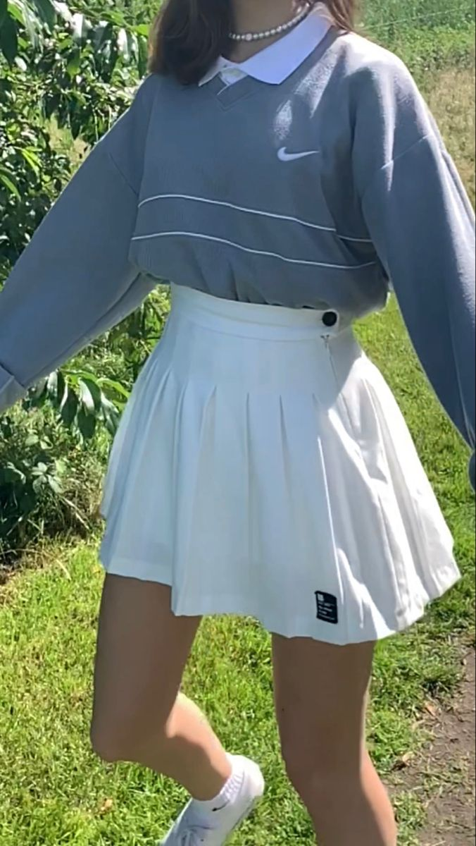 Tiktok Fashionflavour Instagram Sophievanoest In 2020 Tennis Skirt Outfit Fashion Inspo Outfits Outfits