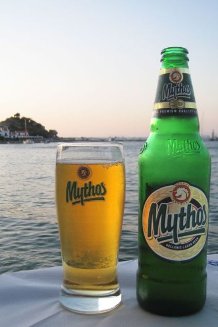 Tomorrow is National Beer Lovers Day! When you think about beer, places like Germany and the UK usually come to mind. But Greece has a long history of beer brewing, and some of the best beers in the world come from the Greek Islands. Arguably one of the most popular beers in all of Greece is Mythos, made by Mythos Brewing, the second largest brewery in Greece. It's exported all over the world including the US, Canada, Taiwan and all across Europe.